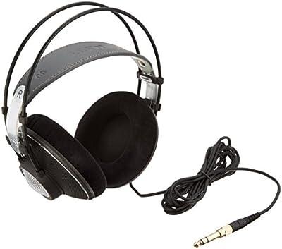AKG K612 PRO Black Supraaural Head-band headphone - headphones (Supraaural, Head-band, 12 - 39500 Hz, 200 mW, 101 dB, 120 ?) prezzo scontato da Polaris Audio Hi Fi