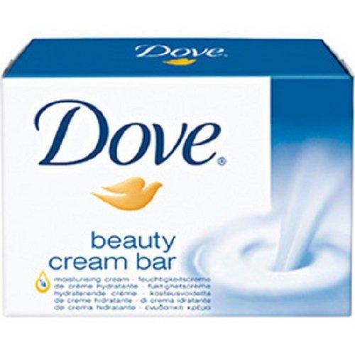 Dove Seife Bars (4 * Dove Beauty Cream Bar Seife mit 1/4 Feuchtigkeitscreme (4*100g))