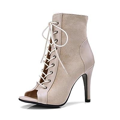 Sandalette-DEDE Sexy Schuhe mit Hohen absätzen Fisch im Mund - Frauen - Stiefel von Sandalette-DEDE bei Outdoor Shop