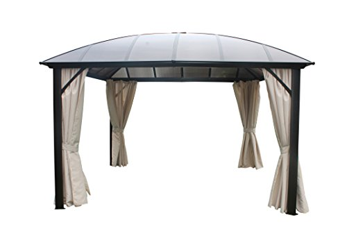Pavillon mit festem dach test anleitung produkt vergleich