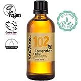 Naissance olio essenziale di Lavanda 100ml - puro al 100%, Vegano, Cruelty Free, senza OGM