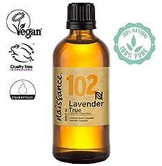 Idea Regalo - Naissance olio essenziale di Lavanda 100ml - puro al 100%, Vegano, Cruelty Free, senza OGM