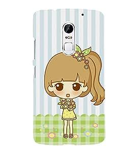 PrintVisa Designer Back Case Cover for Lenovo Vibe X3 (Funny girl :: Lovely girl design :: Baby Angel :: Babycheeks :: Bright Eyes girl design :: Beautiful girl design :: Nice backround wallpaper)