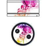 "Disagu SF-sdi-5544_556 Design Folie für Amazon Echo - Motiv ""Bunter Rauch"""