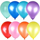 100pcs BuyingJewelry Shimmer Wedding Party Latex Pearlised Assorted Colours Balloons Decorations Xmas Gift