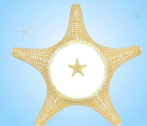 Neptun Creme (OwOw Die Moderne, Einfache Kinder Zimmer Wunderbar Und Cool Neptun Mittelmeer Pendelleuchten Deckenleuchten Für Jungen Oder Mädchen Wohnzimmer Dekoration Fantasie,65Cm)