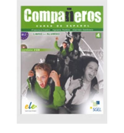 Companeros: Libro Del Alumno 4 + CD(2) (B1.2) (Companeros) (Mixed media product)(Spanish) - Common