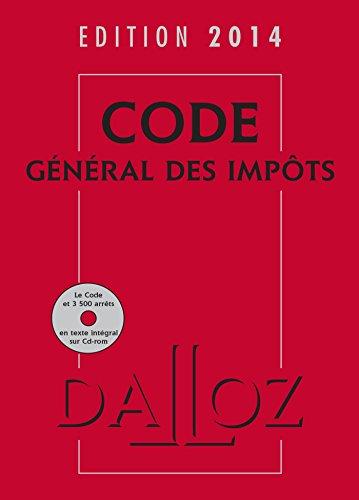 Code général des impôts 2014 avec cédérom par Gérard Zaquin