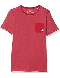 TOM TAILOR Kids Jungen T-Shirt Single Dye Mélange Tee