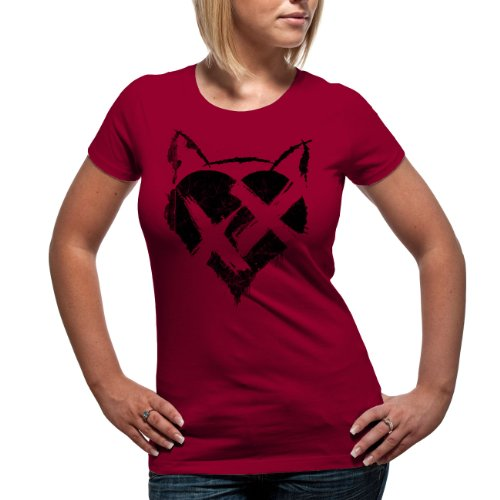 loud-distribution-t-shirt-femme-rouge-red-fr-xl-taille-fabricant-xl
