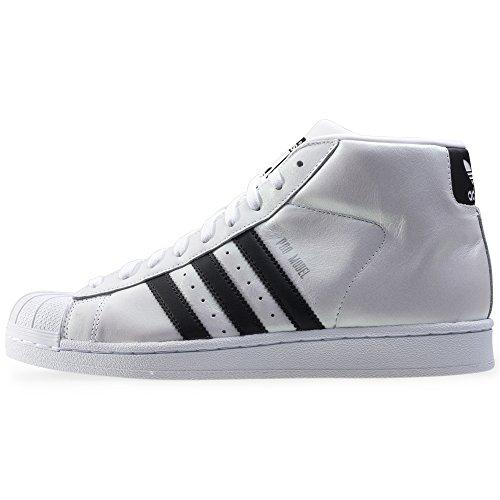 Adidas - Basket Promodel S75851 Blanc White Black