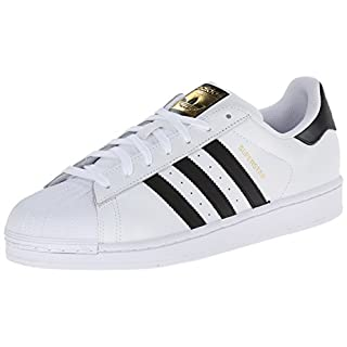 adidas Originals Superstar, Men's Trainers, White (Ftwr White/Core Black/Ftwr White), 10 UK (44.5 EU)