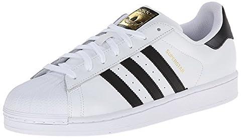 adidas Superstar, Herren Sneakers, Weiß (Ftwr White/Core Black/Ftwr White), 40 EU (6.5 Herren UK)