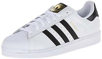 adidas Unisex-Erwachsene Superstar Low-Top, Weiß (Ftwr White/Core Black/Ftwr White), 36 EU