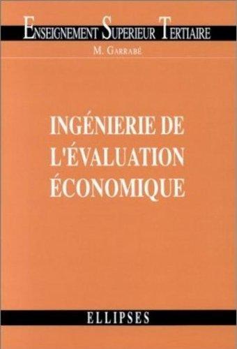 Ingénierie de l'évaluation économique