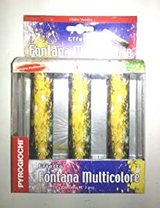 3 FONTANE MULTICOLOR
