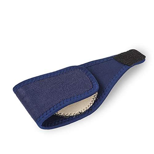 Busirde Arch Fuß Bandage atmungsaktiv Stoff Plattfuß Orthotics Bandage Freie Größe Blau -