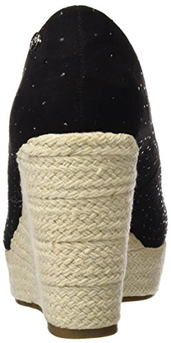 Xti 046582, plateforme femme Noir (Black)