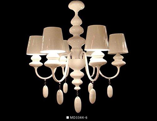 Buluke Moda illuminazione decorata sala Ristorante Hotel paranco lampadario di ferro , testa 6 - Paranco Puleggia