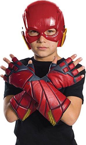 Flash–Justice League Movie Kinder Handschuhe, Einheitsgröße (Rubie 's Spain 34255)