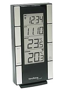Technoline WS 9765-IT Thermomètre Noir/argent