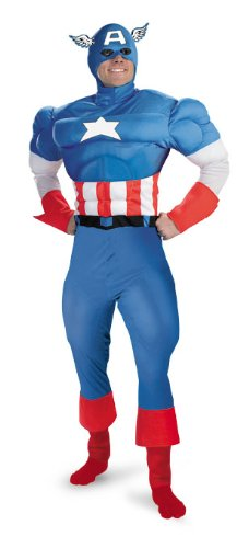 Disguise Captain America Kostüm