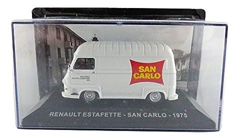 Promocar - PRO10441 - Renault Estafette San Carlo - 1975 - Echelle 1/43 - Blanc