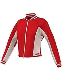 adidas StellaSport Damen Jacke SC Spacerbomber Red Chili/Echo Pink XL
