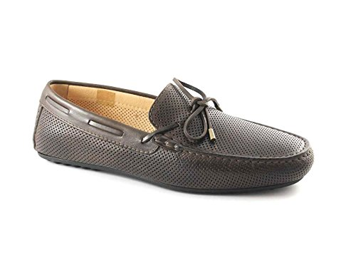BLACK JARDINS 5091 t.moro mocassin chaussures pour hommes trous tubulaires élégants Marron