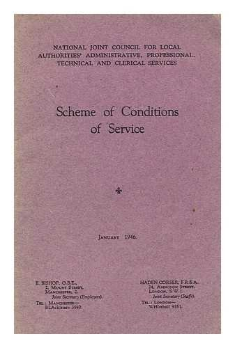 Scheme of Conditions of Service