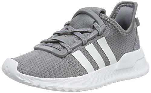 Grau Kinder Schuhe (adidas Unisex-Kinder U_Path Run EL C Sneaker, Grau (Grey/Footwear White/Hi-Res Yellow 0), 29 EU)