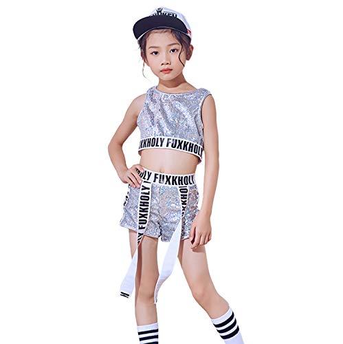 LOLANTA Set di Vestiti per la Danza della Scuola di Costumi da Danza Hip Hop