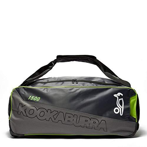 KOOKABURRA 1500 Wheelie Cricket Kit Tasche, Grau, Einheitsgrße