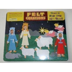 Felt Creations: Nativity Shepherds and