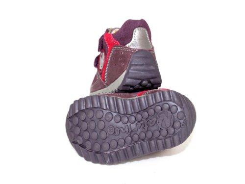 Naturino Scarpe Scarpe bambino scarpe Brogue Izo Red - Bordeaux Red