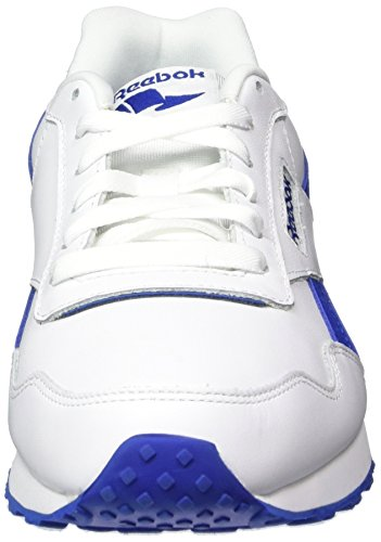 Reebok Herren Royal Glide LX Sneaker Weiß (White/Collegiate Royal/Steel)