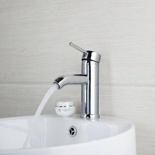 Nickel-5-spray (Lcoaung Beste Waschbecken kalt/warm Wasser Mixer einzigen Griff Spray Bad Chrom 8340/5 Deck montiert Waschbecken tippen Sie auf Mischpult Armatur, Chrom)