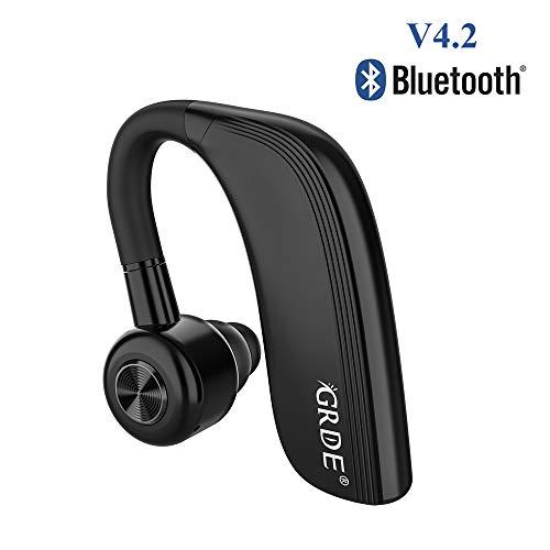 Bluetooth Headsets für ein Ohr V4.2 Siri Business Kopfhörer DSP Lärmreduzierung Bluetooth Freisprecheinrichtung und 25 Stunden Arbeitszeit Bluetooth Kopfhörer Sport für Business Fahren Joggen usw