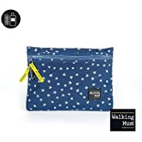 Walking Mum - Neceser denim baby para silla de paseo azul