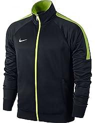 Nike Team Club Trainer Jacket - Chaqueta para hombre, color negro / verde / blanco, talla XL