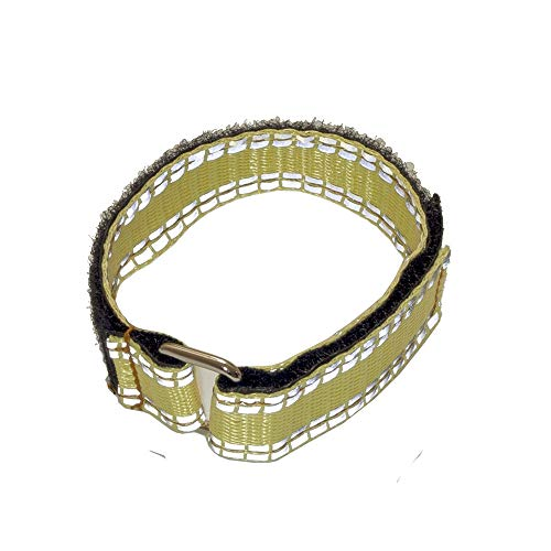 Desconocido Generic 250x20mm Kev lar Battery Strap Magic Tape with Reflective Band for RC Drone FPV Racing