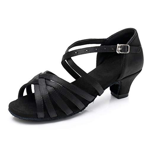 Holywin Kinder Schuhe Mädchen Prinzessin Tanz Ballroom Tango Latin Shoes Sandalen High Heels
