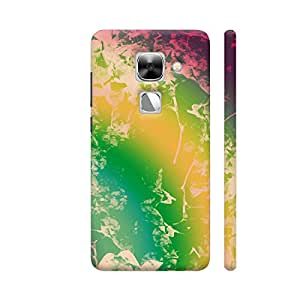 Colorpur Cool Abstract Multicolor Artwork Printed Back Case Cover for LeEco Le Max 2