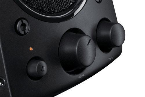 Logitech Z623 2.1 Speaker System for PC/Mac/Linux or Any Device with 3.5 mm and RCA Audio Out - Black