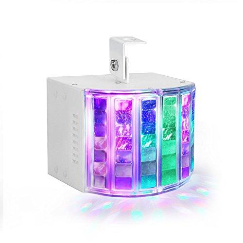 TSSS DMX 512 Stroboskope Bühnenbeleuchtung 18 Watt RGB LED Strobe Lampe 42 Linsen Party Beleuchtung DJ Disko Geburtstagsparty Projektor-Licht