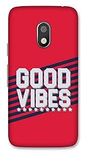 Moto G4 Play Designer Hard-Plastic Phone Cover from Print Opera -Good Vibes