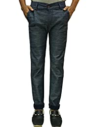 Slim Fit Grey Jeans For Men And Boys(used For Casual,Business And Party Wear) This Latest Design Attracts All....