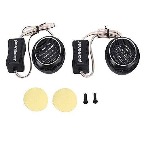 Preisvergleich Produktbild HoganeyVan 2 Stücke Universal Mini Auto Lautsprecher Hohe Effizienz Lautsprecher Super Power Audio Auto Sound Auto Hochtöner