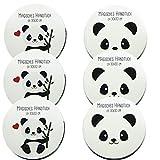 Bada Bing 6er Set Magisches Handtuch 30 x 30 Panda Pandabär Bär 2fach Sortiert Weihnachten Adventskalender Mitbringsel Geschenk 47