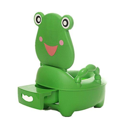 SLHP, vasino per bambini, per imparare l'uso del WC verde scuro